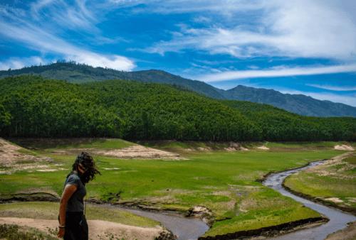 Near Echo Point in Munnar