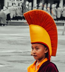 cute monk