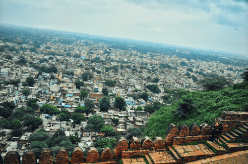 View from Gwalior Fort