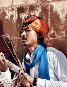 traditional rajasthani musician