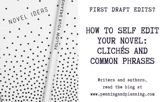self editing clichés and common phrases