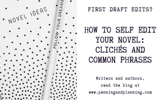self editing clichés and common phrases
