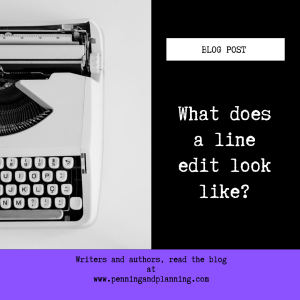 What does a line edit look like?