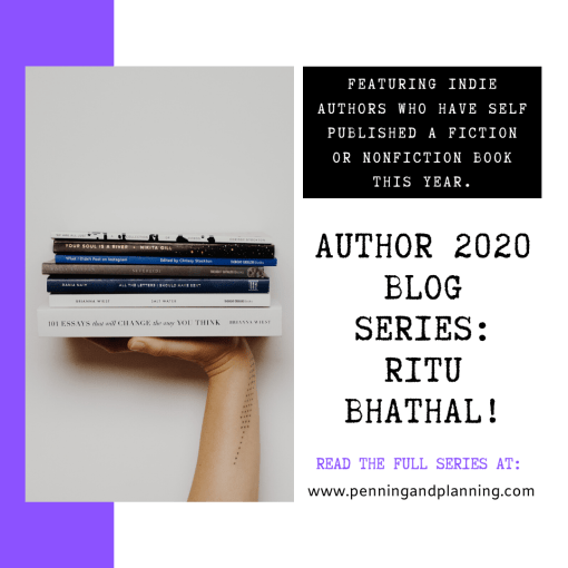 Author 2020 blog series: Ritu Bhathal