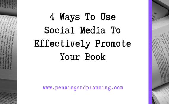 4 Ways To Use Social Media To Effectively Promote Your Book
