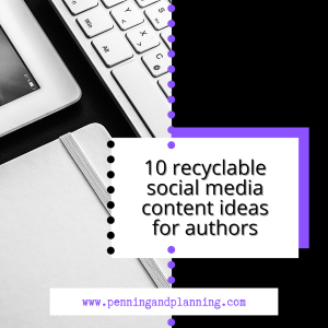 10 recyclable social media content ideas for authors