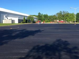 New asphalt commercial parking lot | Penninger Asphalt Paving, Inc - Southern Illinois Paving Specialists