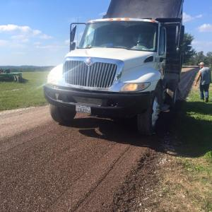 New driveway in southern Illinois | Penninger Asphalt Paving, Inc