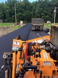 Asphalt driveway in progress | Penninger Asphalt Paving, Inc