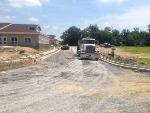 Drive paving for new construction in southern Illinois | Penninger Residential & Commercial Asphalt Paving
