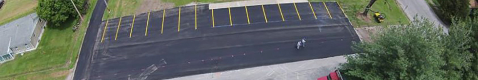Tar and Chip Southern Illinois with Penninger Asphalt Paving