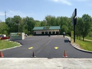 Subway restaurant paving project completed! | Penninger Residential & Commercial Asphalt Paving
