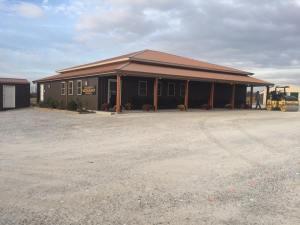 Commercial parking lot for Huckleberry's Restaurant in Mounds, IL, before... | Penninger Residential & Commercial Asphalt Paving