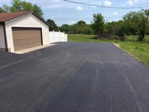 Asphalt driveway installation completed | Penninger Asphalt Paving, Inc