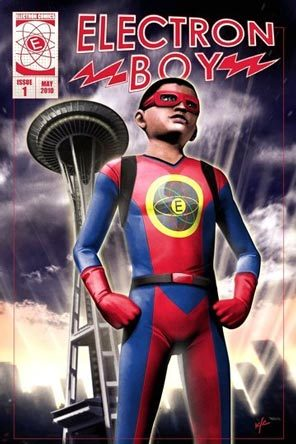 Wish Come True Seattle Superhero Electron Boy Penning Pandas Proclamations