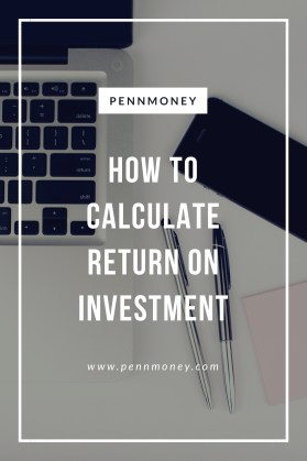 calculate return on investment
