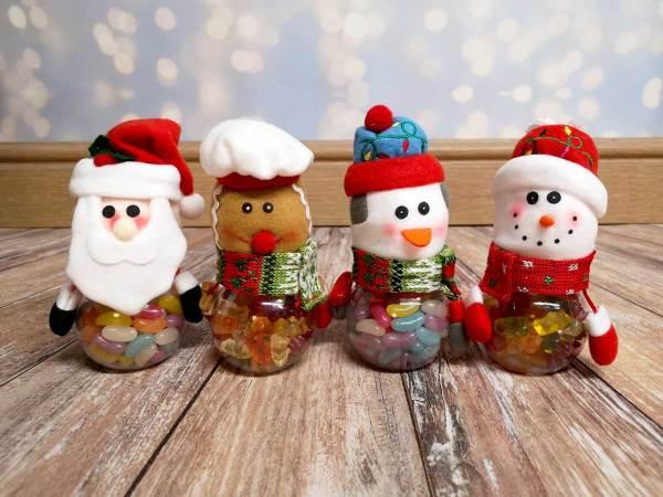 CHristmas Candy Jars