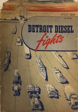 """""""Detroit Diesel Fights"""" (drawer 107)"""