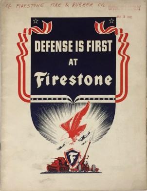 """Defense is First at Firestone (box 1, folder 1)"