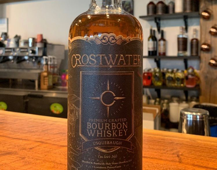 Crostwater Bourbon Bottle