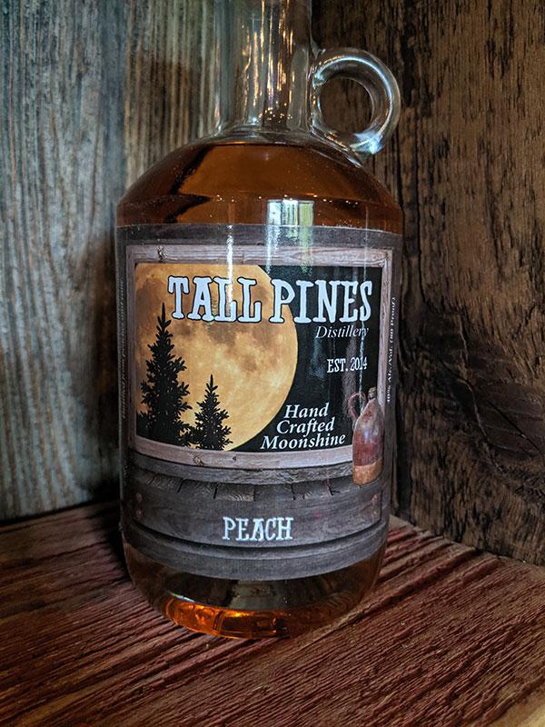 Tall Pines Peach Moonshine
