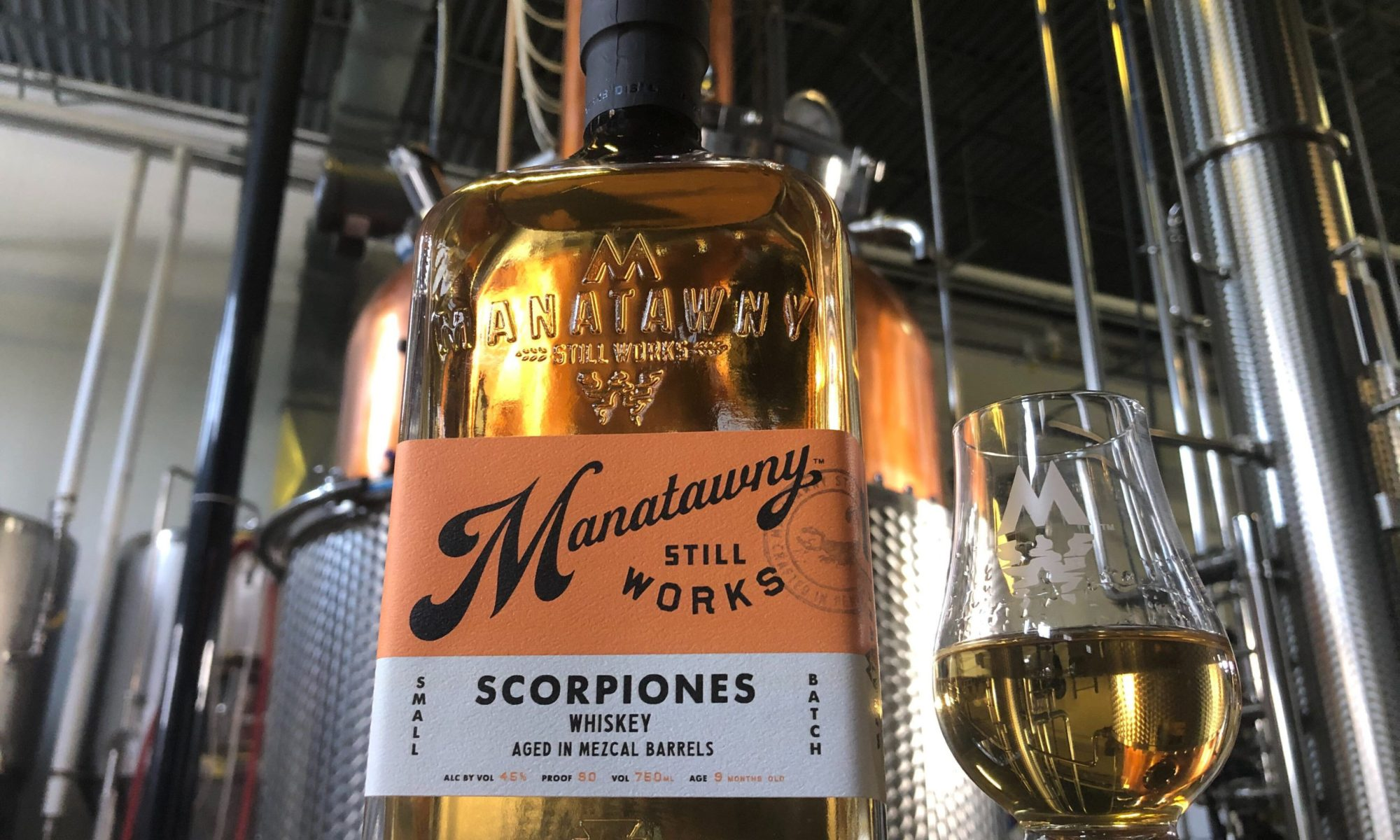 Manatawny Scorpiones Whiskey in Mezcal Barrels