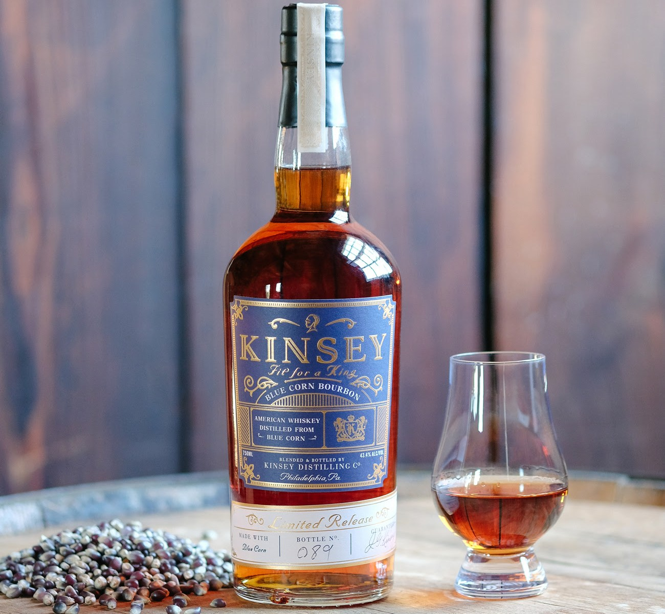 Kinsey Blue Corn Bourbon - Limited New Release