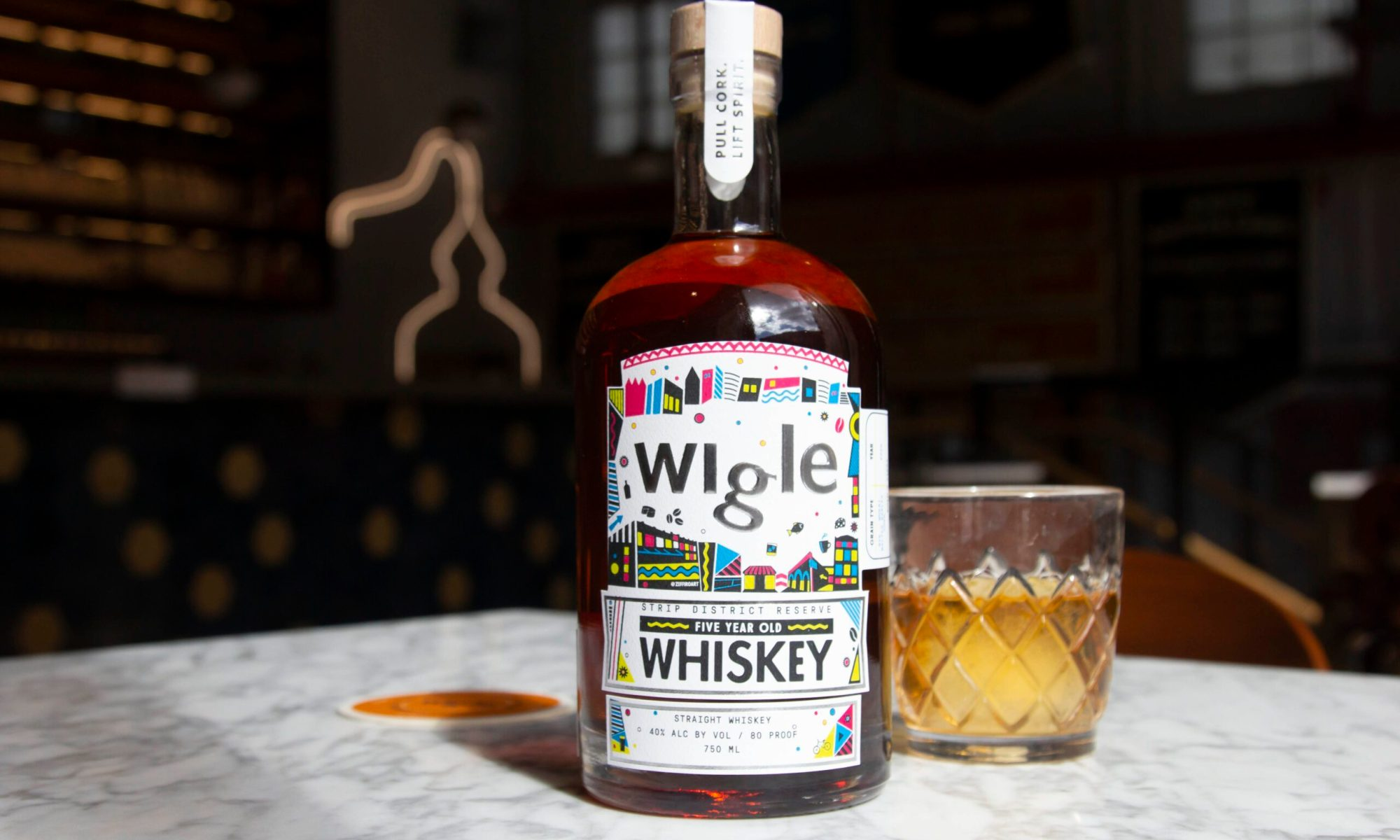 Wigle Whiskey - Strip District Reserve Whiskey
