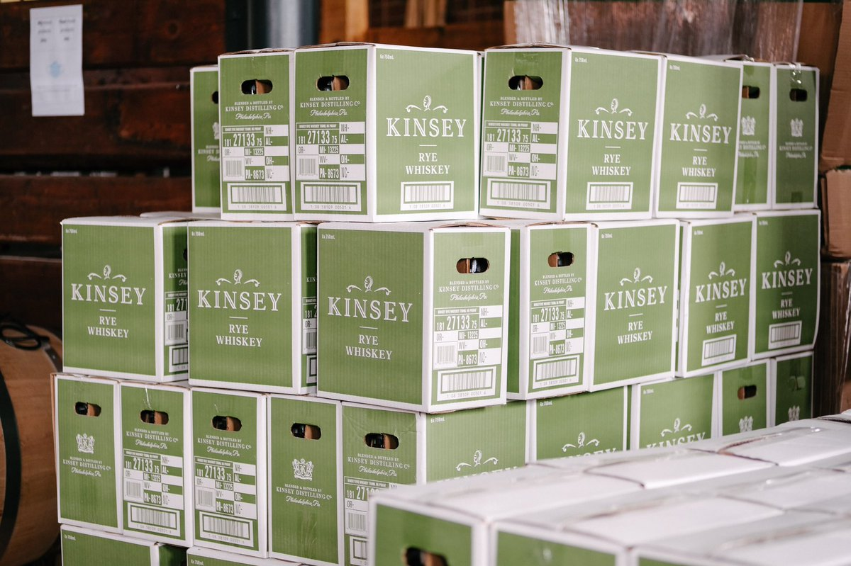 Get Kinsey Rye and Dozens of Other Spirits Delivered to your door
