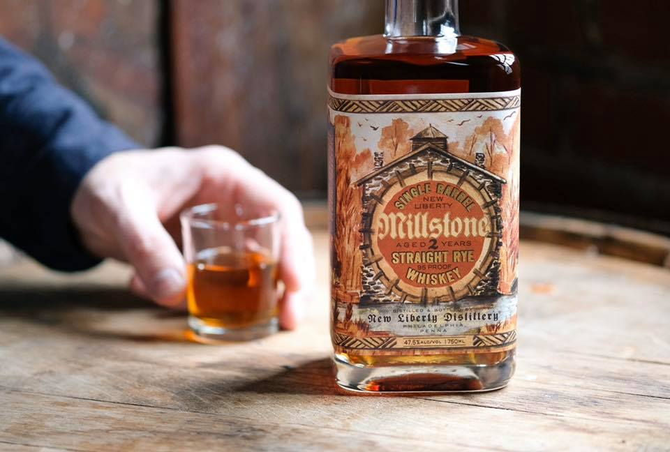New Liberty Millstone Single Barrel Straight Whiskey