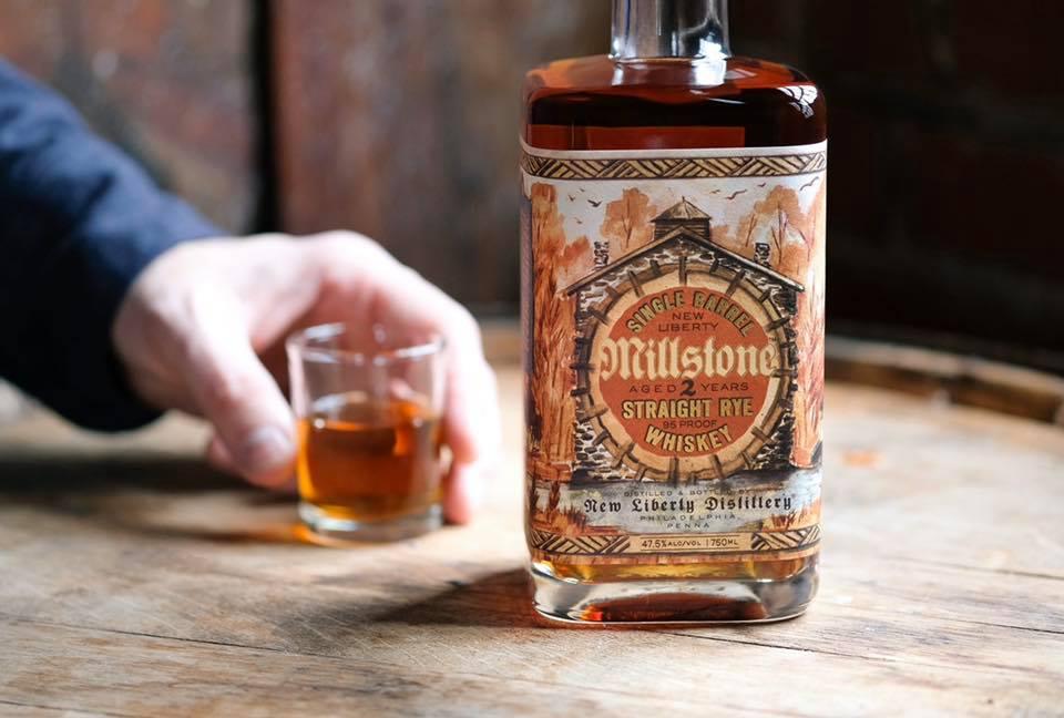 New Liberty Millstone Single Barrel Straight Whiskey