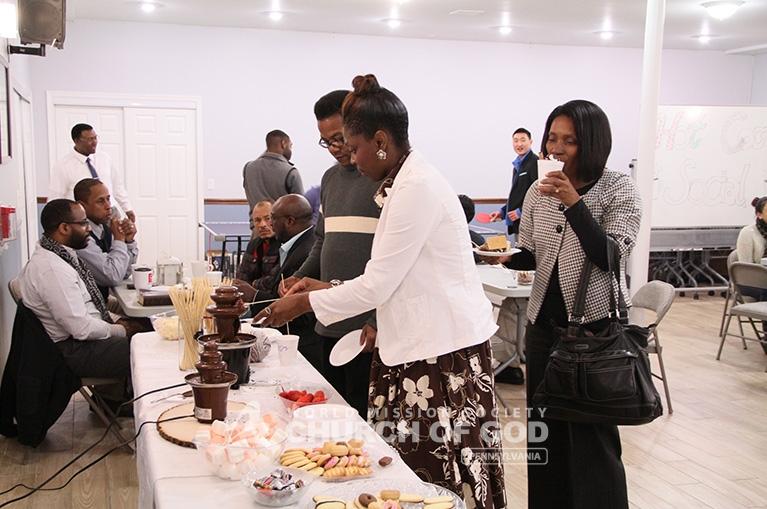World Mission Society Church of God, WMSCOG, World Mission Society Church of God, Philadelphia, PA, Pennsylvania, Hot Cocoa Social, Hot Chocolate, Winter, Family, cozy