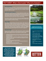Rettew Fact Sheet: What is Stormwater? Why is it a Concern?