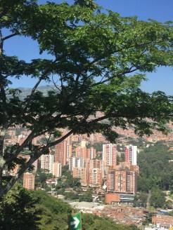A view of Medellín from Cerro el Volador.