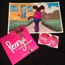 Penny book and print