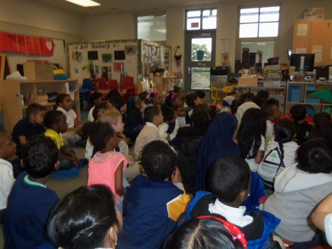 Reading at Emerson Elementary School