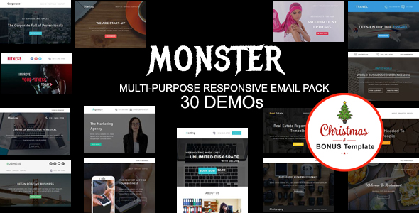 Medical - Multipurpose Responsive Email Template with Online StampReady & Mailchimp Builders - 3