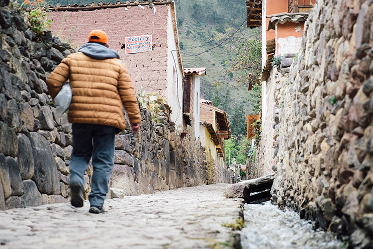 The modern town of Ollantaytambo is charming in its own right.