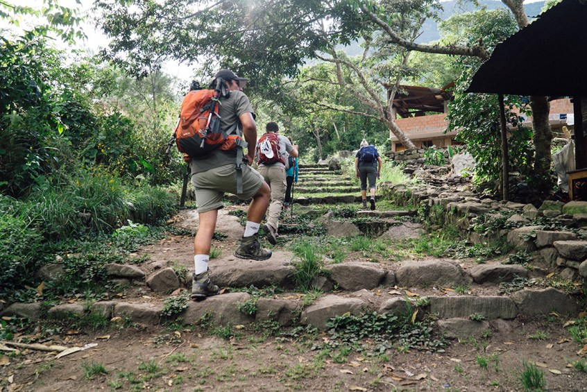 We got to spend Day 3 on an Inka Trail