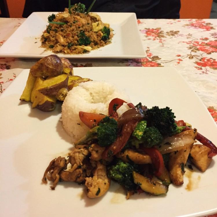 Dinner at Seledonia's Mesa