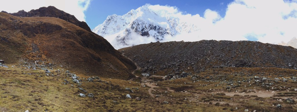 The way to the Salkantay Pass