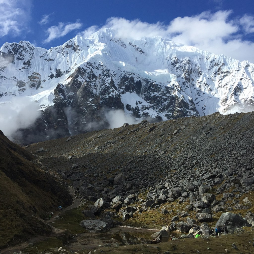 They weren't kidding about the views of Salkantay!