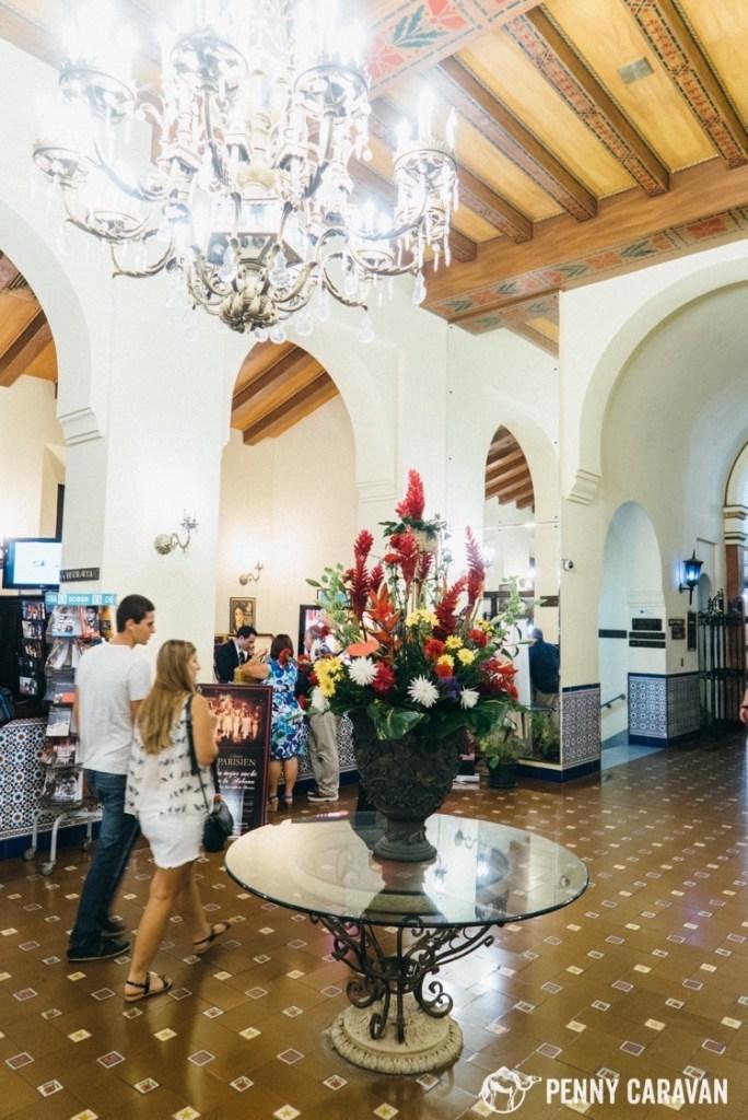 Lobby at Hotel Nacional