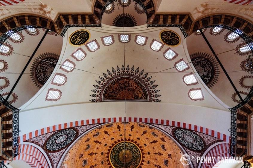 Suleymaniye interior.