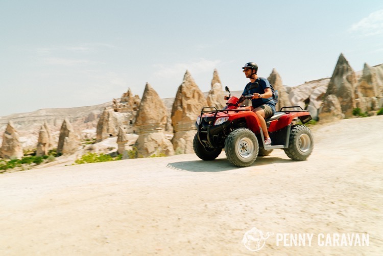 Highly recommend renting an ATV to explore the region!