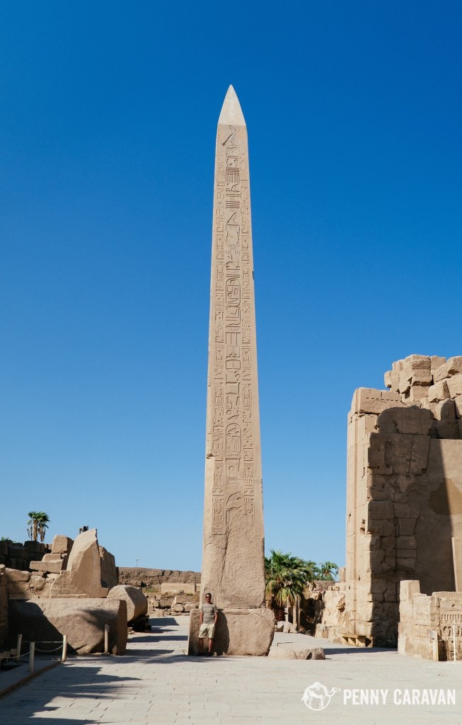 Tallest surviving ancient obelisk on earth.