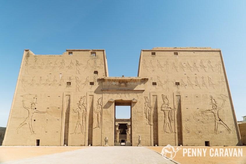 Temple of Horus at Edfu | Penny Caravan