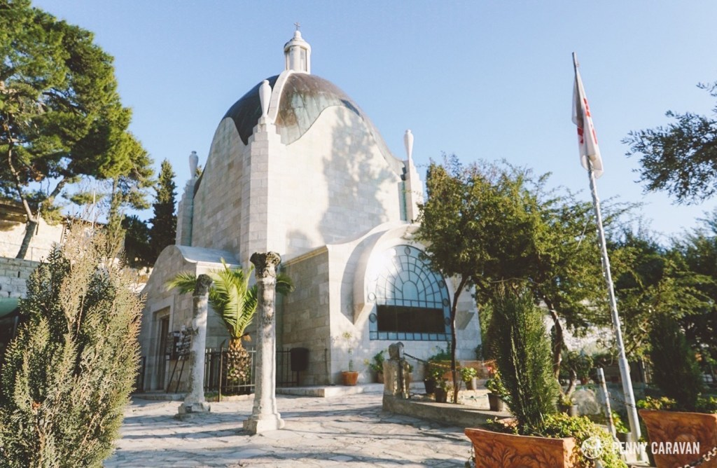 The Church of Dominus Flevit.