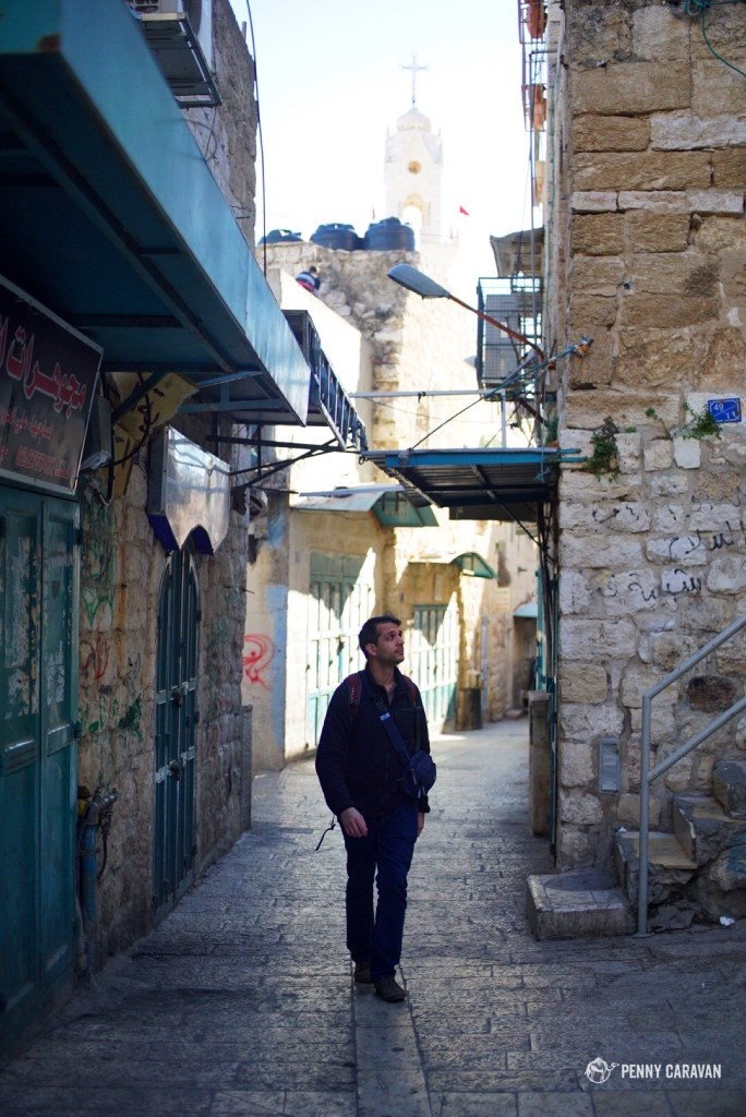 Wandering through the Old Town on Christmas morning.