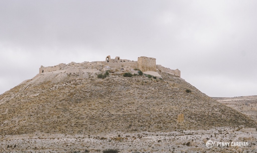 Shobak Castle is incrediblt impressive from a distance.
